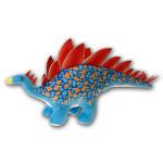 """Dino Dan 17"""" Stegasaurus Plush Dinosaur"""