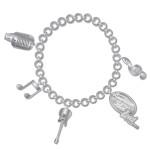 American Idol Live 2012 Charm Bracelet