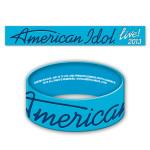 American Idol Live! 2013 Logo Rubber Bracelet