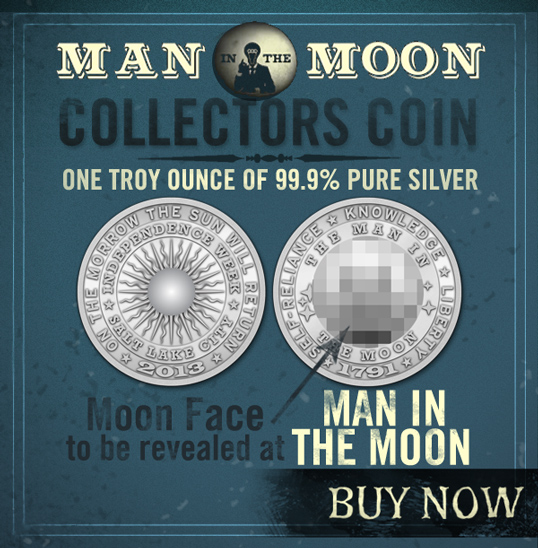 Man in the Moon Coin