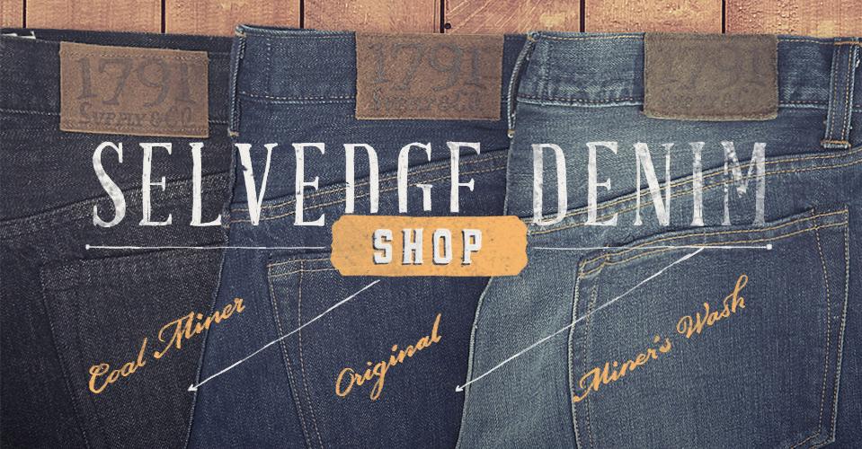 1791 Selvege Denim Jeans