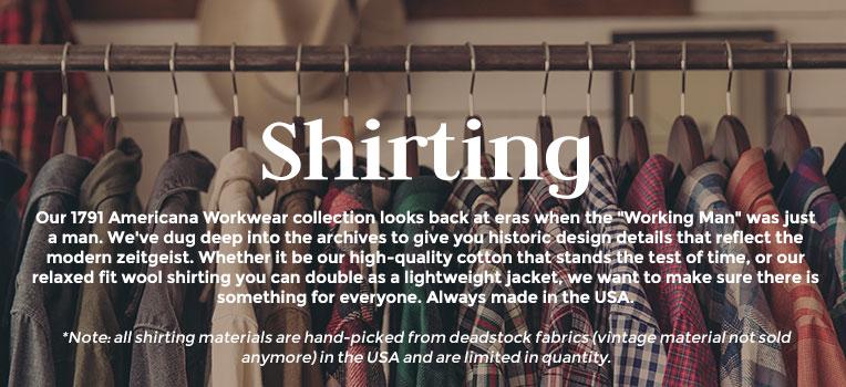 1791 Shirting
