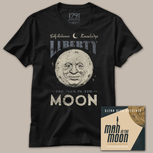 Man in the Moon T-Shirt and Official Digital Soundtrack Bundle