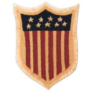 1791 Heritage Inspired American Flag Patch