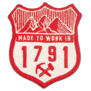 1791 Made To Work In Patch