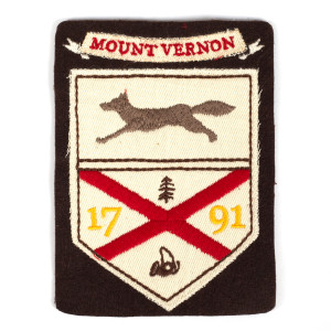 1791 Mt. Vernon Fox Hunt Patch