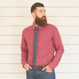 1791 Micro-Check Shirt