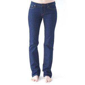 1791 Women's Straight Leg Dark Rinse Denim Jeans