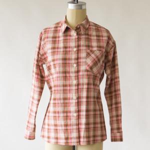 1791 Women's Pink Pioneer Plaid Shirt