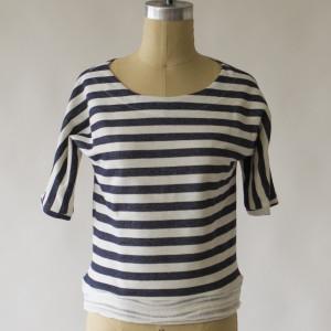 1791 Women's Midnight Stripe Knit Tee