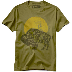 1791 One Town One Country Buffalo T-Shirt