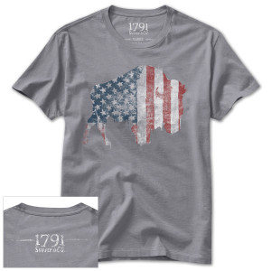 1791 Buffalo Freedom Men's T-Shirt