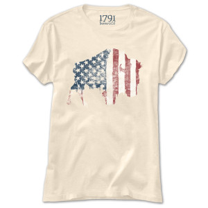 1791 Buffalo Freedom Fashion Fit Women's T-Shirt