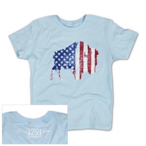 1791 Buffalo Freedom Youth Girls T-Shirt