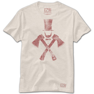 1791 Lincoln Axe T-Shirt
