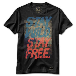 1791 Stay Wild Stay Free T-Shirt