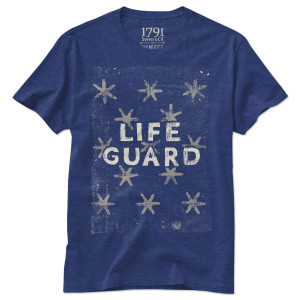 1791 Life Guard Flag T-Shirt