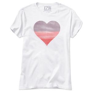 1791 Women's Sunset Heart T-Shirt
