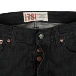 1791 Black Selvage Coal Miners' Wash Straight-Leg