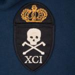 1791 Death to Tyranny Polo Navy