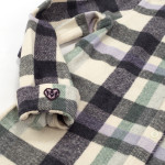 1791 Women's Multi Purple/Green Plaid Flannel Shirt