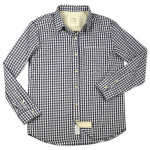 1791 Navy Gingham Check Shirt