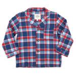 Clara Janssen Kids Americana Plaid Pajamas