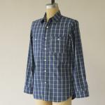 1791 Adventure Lime   Blue Plaid Shirt