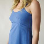 1791 Cerulean Blue Slip Dress