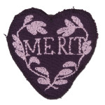 1791 Purple Heart Merit Patch