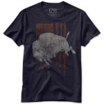 1791 Jumping Buffalo Men's T-Shirt