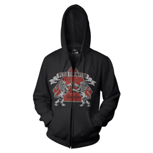Peter Frampton Lions & Guitars Tour 2014 Hoodie