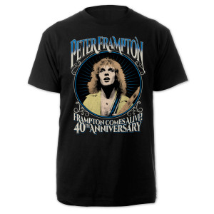 Peter Frampton 40th Anniversary Tour Tee