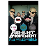 Far East Movement Button Set