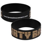 Far East Movement Dirty Bass Rubber Bracelet
