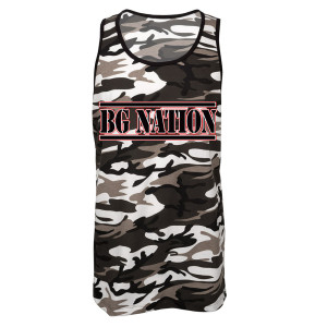 BG Nation Men's Camo Tank