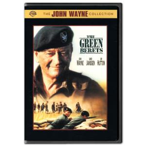"""John Wayne """"The Green Berets"""" DVD"""