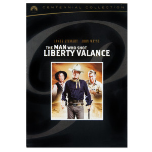 "John Wayne ""The Man Who Shot Liberty Valance"" DVD (1962)"