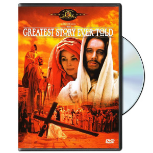 "John Wayne ""The Greatest Story Ever Told"" DVD (1965)"