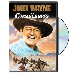 "John Wayne ""The Comancheros"" DVD (1961)"