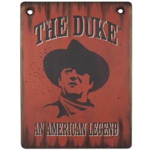 John Wayne The Duke/Legend 11x15 Wood Sign