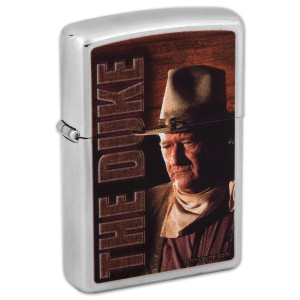 John Wayne The Duke Profile Zippo