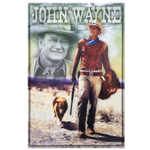 John Wayne Long Live Poster