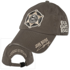 "John Wayne Old Guys Rule ""Creed"" Cap"