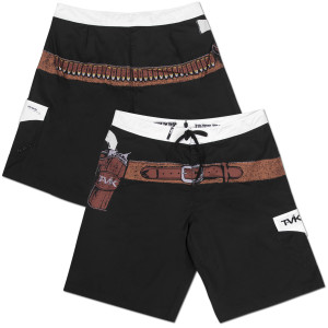 "John Wayne Tavik ""Shooter"" Board Shorts Black"