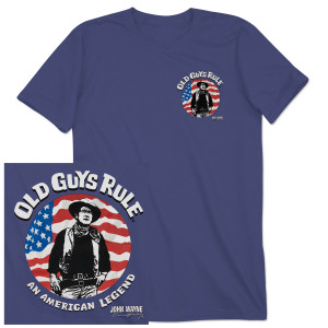 "John Wayne Old Guys Rule ""American Legend"" Unisex T-shirt"