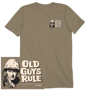 "John Wayne Old Guys Rule ""Can't Run From"" T-shirt"