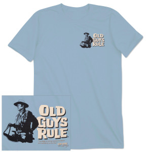 "John Wayne Old Guys Rule ""Saddle Up"" T-shirt"
