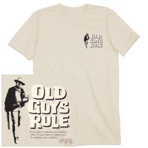"John Wayne Old Guys Rule ""Respect"" T-shirt"