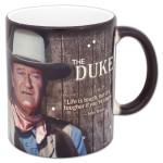 """Johne Wayne """"The Duke"""" Morphing Film Cell Mug"""